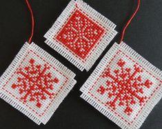 Christmas cross stitch pattern: modern Christmas by MKDesignArt
