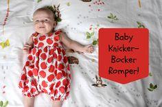 Baby Knicker-Bocker Romper