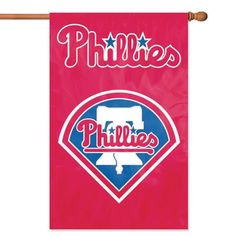 Philadelphia Phillies MLB Applique Banner Flag 44x28