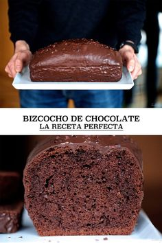 Chocolate cake, the perfect recipe (and all the secrets for mellowness) Chocolate Sponge Cake, Chocolate Coffee, Sweet Recipes, Cake Recipes, Dessert Recipes, Fondant Cakes, Cupcake Cakes, Cupcakes, Plum Cake