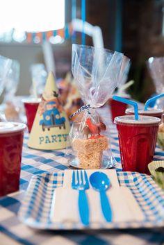 Little Blue Truck Birthday Party Ideas Second Birthday Ideas, Twin First Birthday, Boy Birthday, Fun Party Themes, Party Ideas, Truck Birthday Cakes, Blue Birthday Parties, Farm Animal Party, Winnie The Pooh Birthday