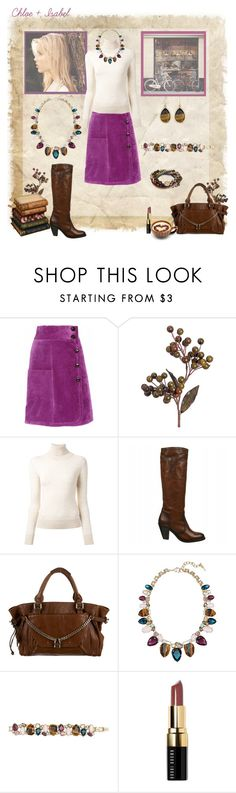 """""""Chloe + Isabel"""" by peachofatl on Polyvore featuring Sonia by Sonia Rykiel, Ermanno Scervino, Frye, Chloé, Chloe + Isabel and Bobbi Brown Cosmetics"""