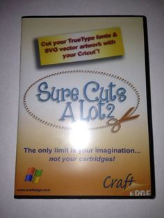 Using the Sure Cuts a Lot 2 software with your Cricut Machine keeps you from buying all those expensive cartridges!