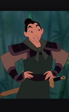 Mulan is one of the few Disney princesses that is arguably a good example for little girls. She's not a typical damsel in distress and though she ends up with the prince at the end she shows young girls that they can be their own knight in shining armor.