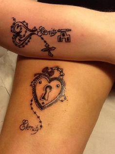 Check out 35 Significant Lock And Keys Tattoos - nenuno artistic