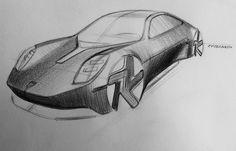 Transportation Technology, Transportation Design, Pen Sketch, Sketch Pad, Sketching Techniques, Car Design Sketch, Porsche Design, Cool Sketches, Hot Cars