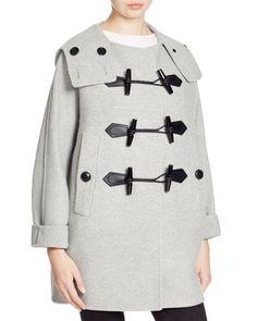 Burberry Brit Anbridge Wool Cashmere Duffle Coat