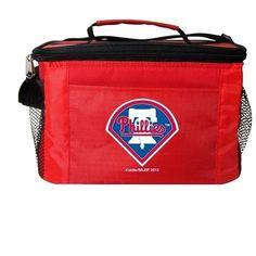 MLB 2014 6 Pack Cooler Lunch Tote (Philadelphia Phillies)