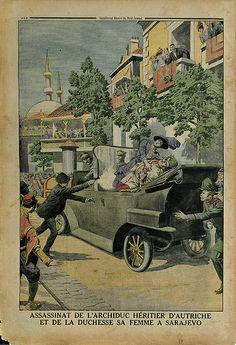 Le Petit Journal. Supplément illustré. 12 juillet 1914.