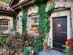 Fairytale Storybook Home on Elder Mountain in Tennessee 25