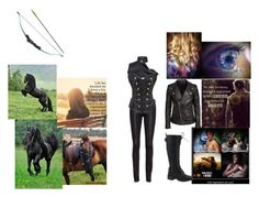 who rides a horse in the apoclyspe. by artemis-nightshade on Polyvore featuring BLK DNM, Helmut Lang and Nature Breeze