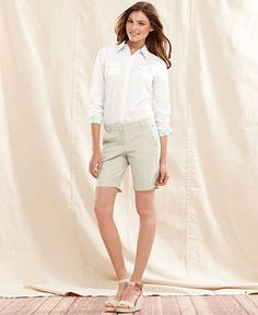 Shorts and Pure cotton shirts has the okay go for Spring at Hilton Weiner