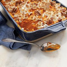 Hearty Thanksgiving Casseroles: Sweet Potato-Carrot Casserole