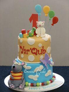 toopy and binoo cake 2
