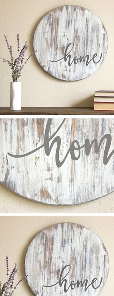 """Home"" #rustic #farmhouse #homedecor"