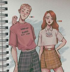 Art inspiration drawing aesthetic 44 Ideas for 2019 Art Inspiration Drawing, Character Design Inspiration, Aesthetic Drawing, Aesthetic Art, Kim And Ron, Cute Art Styles, Kim Possible, Drawing Clothes, People Art