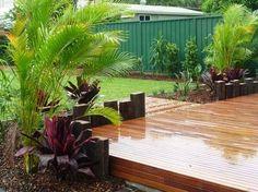 Garden Design Ideas by Creative Nature Landscape Services Landscaping Supplies, Home Landscaping, Tropical Landscaping, Tropical Garden, Tropical Plants, Gardening Supplies, Landscaping Design, Nature Landscape, Landscape Plans