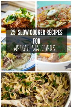 25 Slow Cooker Recipes for Weight Watcher's | Recipe Diaries | Bloglovin'
