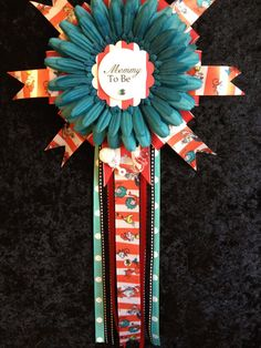 Dr Seuss Inspired Mommy To Be Corsage by AngelinaBellaFina on Etsy, $18.00
