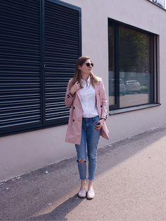 Trenchcoat Love Daisies, Duster Coat, Normcore, Glitter, Jackets, Style, Fashion, Down Jackets, Swag