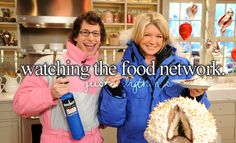 Watching the Food Network
