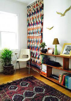 Pad Peek: Megan and Todd's Mid-Century Boho Home