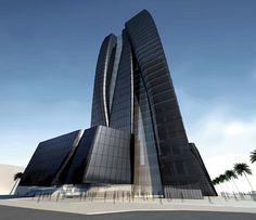 Dubai Towers, Melbourne by Zaha Hadid