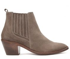 Celeste Suede Taupe Boot