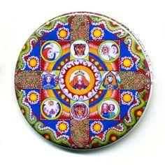 Astrologie-Mandala-Kunst Magnete Set 4 Zodiac von LindyLonghurst