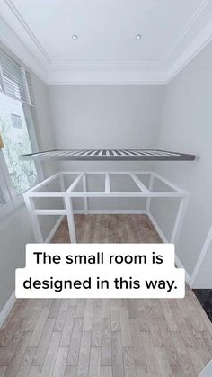 Small Room Design Bedroom, Room Ideas Bedroom, Home Room Design, Home Interior Design, Bedroom Decor, Dressing Room Design, Small House Design, Furniture For Small Spaces, House Rooms