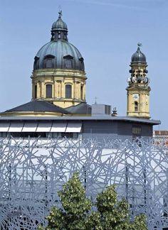 Peter Haimerl Architektur — Xxwands: Multi-storex Car Park 'salvatorplatz 3'