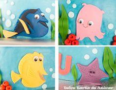 Tarta Buscando a Nemo