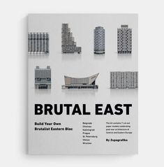 "Zupagrafika's ""Brutal East"" build-your-own Brutalist Eastern Bloc model kit"