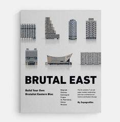 """Zupagrafika's """"Brutal East"""" build-your-own Brutalist Eastern Bloc model kit"""