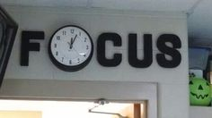 clever classroom sign - could cover the broken clock in the classroom with this until fixed! and then uncover clock....just sayin'