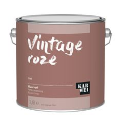 KARWEI muurverf vintage roze mat 2,5 liter kopen? muurverf-kleur | KARWEI