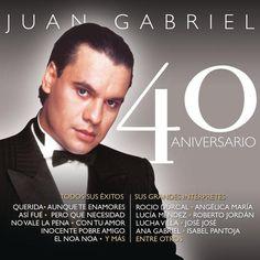 Juan Gabriel - Juan Gabriel - 40 Aniversarío (iTunes Plus AAC M4A) (Album) | iTunes Latin - iTunes Plus AAC M4A Music Download