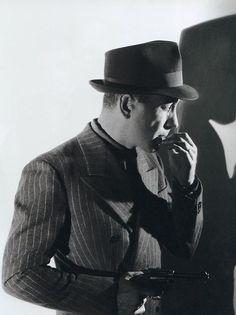 Humphrey Bogart, 1941, in a publicity shot for The Maltese Falcon One of my favorite photos