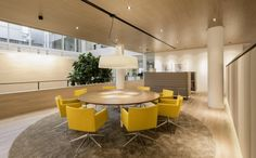 Yellow - BarentsKrans Offices by Hofman Dujardin Architects