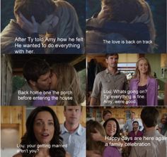 Season 8 Episode 10 When Ty and Amy finally got back together again Heartland Season 8, Amy And Ty Heartland, Heartland Quotes, Heartland Ranch, Heartland Tv Show, Ty Borden, Heart Land, Ty And Amy, Pretty Little Girls