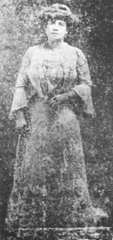 Lulu White (Lulu Hendley, ca. 1868 - August 20, 1931) was a brothel madam, procuress and entrepreneur in New Orleans, Louisiana during the Storyville period. An eccentric figure, she was noted for her love of jewelry, her many failed business ventures, and her criminal record that extended in New Orleans as far back as 1880.