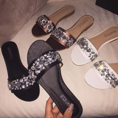 Fancy Shoes, Blue Shoes, Me Too Shoes, Flower Girl Shoes, Girls Shoes, Shoe Makeover, Shoe Boots, Shoes Sandals, Jeweled Sandals
