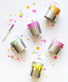 Miniature Paint Cans – Oh Happy Day Shop