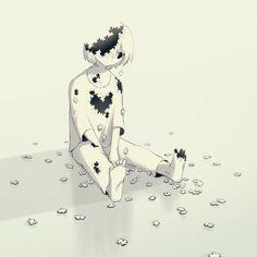 Este artista japonés nos pone a pensar con sus ilustraciones