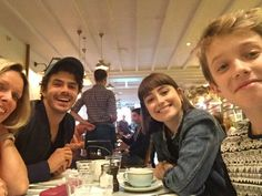 Harry Marcus meets up with some Poldark friends August 18, 2017