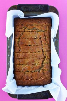 Fall flavor meets banana bread in this gluten free pumpkin banana bread. It's the perfect way to use up old bananas and open cans of pumpkin.