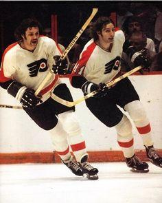 Dave Schultz & Don Saleski / Philadelphia Flyers