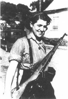 Sara Ginaite was a Jewish Lithuanian partisan who fought against Nazi  occupation during the Second World War.  Ginaite was born in 1924 in Kovno (Kaunas), Lithuania. She was educated in  a Lithuanian-speaking school, which she was about to graduate from when  Nazi Germany invaded the country in 1941. Three of Ginaite's uncles were  killed in the Kaunas Pogrom, a massacre of Jewish people that the Nazi's  encouraged the Lithuanian population to perform. The pogrom resulted in the  deaths of…