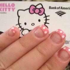 My valentines nails match my debit card!