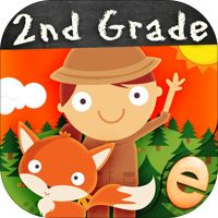 Animal Second Grade Math Games for Kids in First, Second and Third Grade Premium od vývojáře Eggroll Games LLC